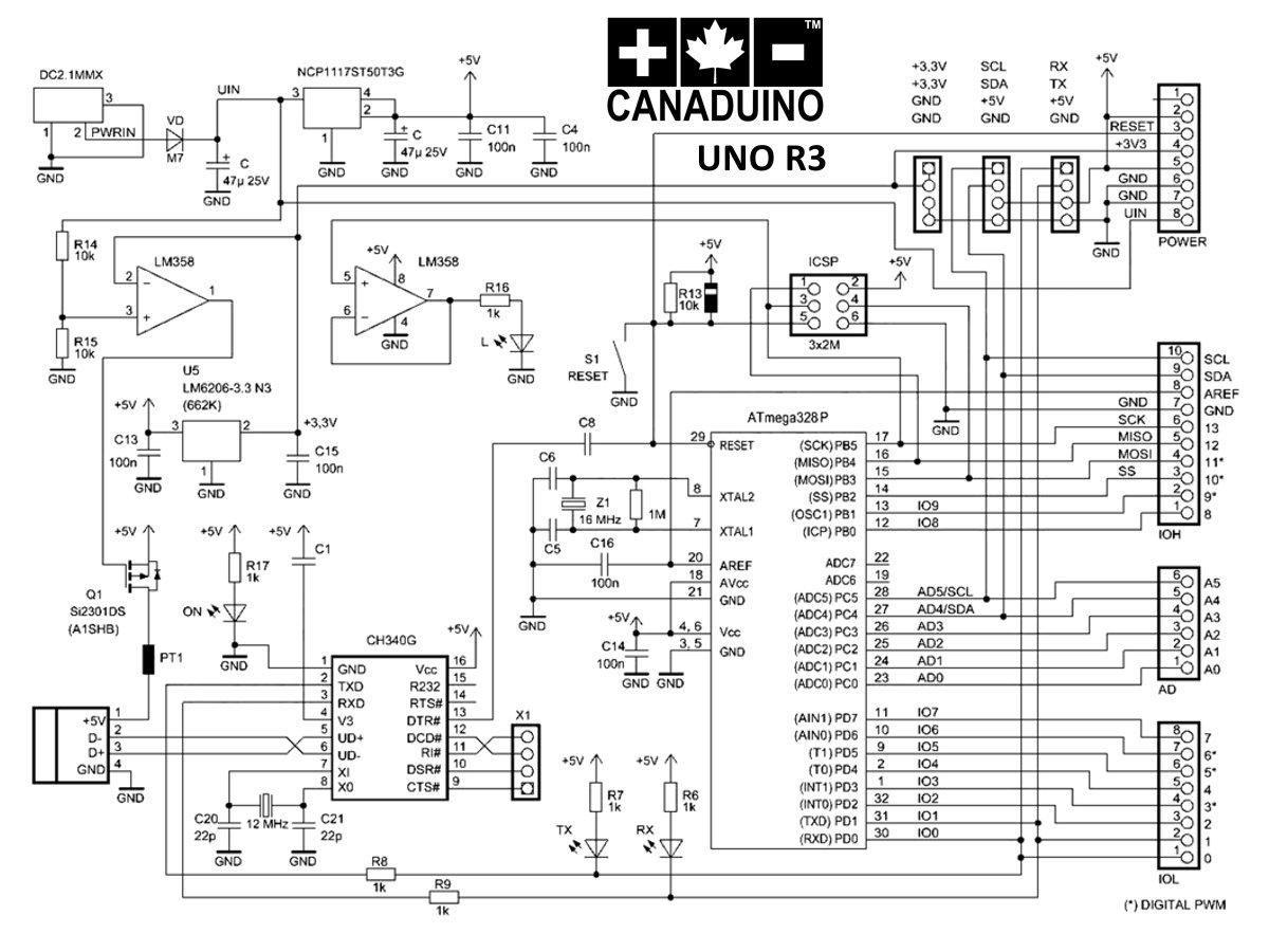 Advanced Uno R3 Atmega328p Arduino Compatible Ch340g Usb