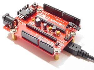 CANADUINO Arduino Nano-Uno Converter NANUNO active - smarter electronics by universal solder