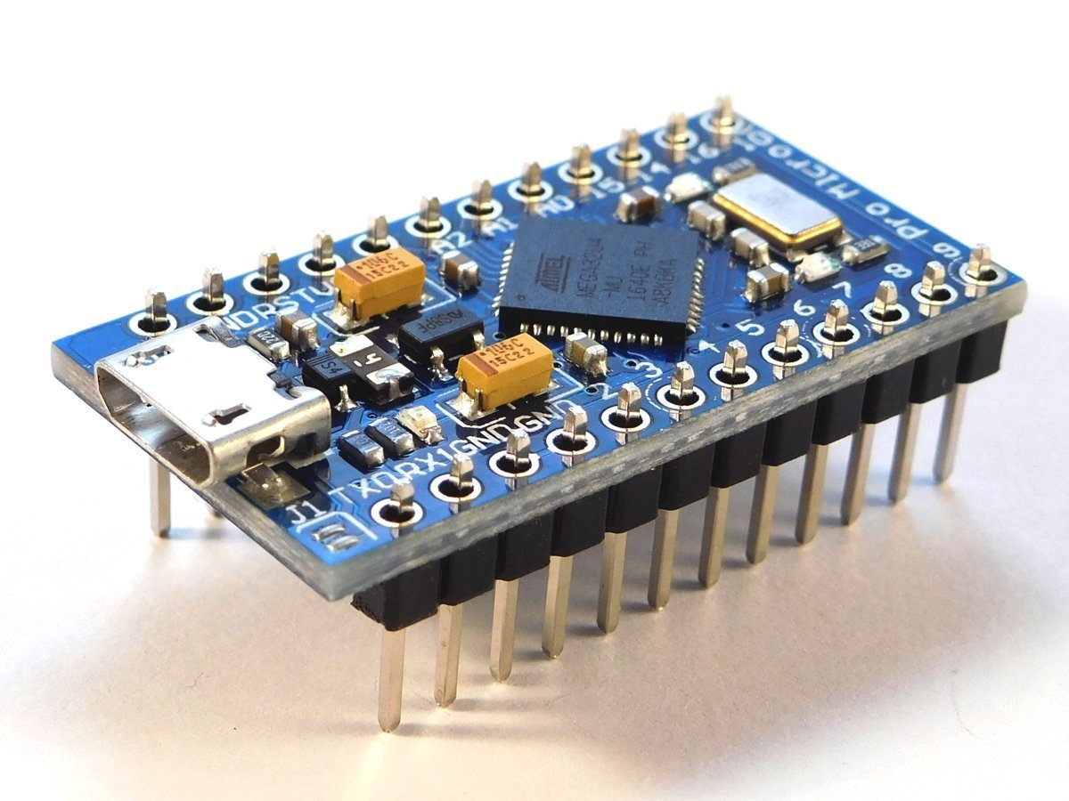 Arduino Pro Micro Atmega32u4 compatible micro controller development board - smarter electronics by Universal Solder