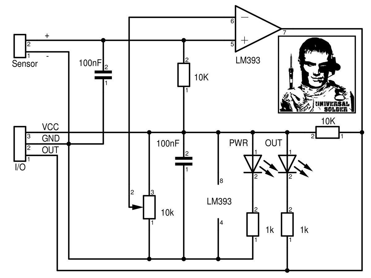 Noise Sound Audio Sensorog And Adjustable Trigger
