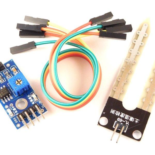 Soil Moisture Sensor Arduino compatible