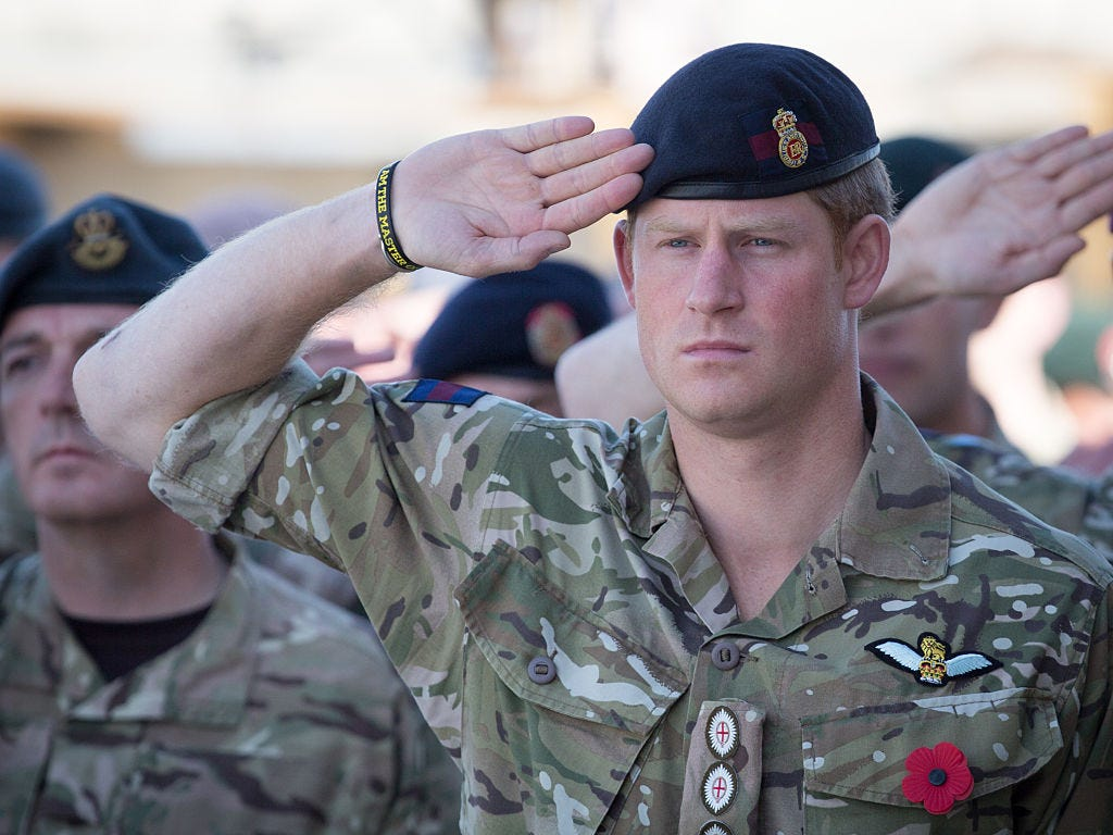Prince Harry, Duke of Sussex in his military uniform - Inspirational story about British Family