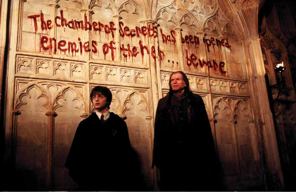 The chamber of secret has been opened. Enemies of the heir... Beware!!  Behind the scene of Harry Potter