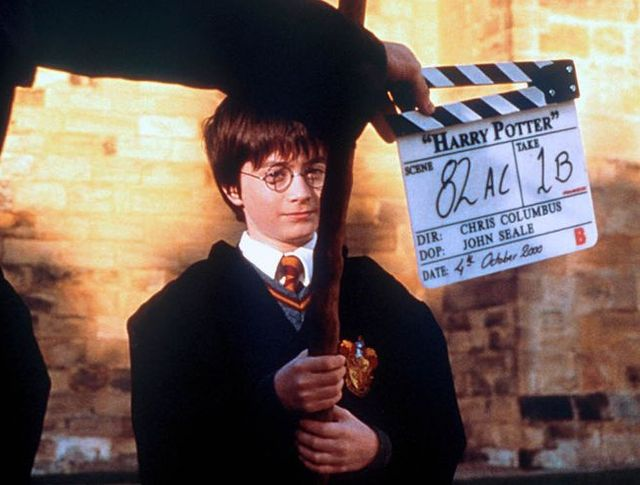 behind the scene harry potter