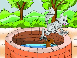 Goat and the Fox Story - Aesop's Fables