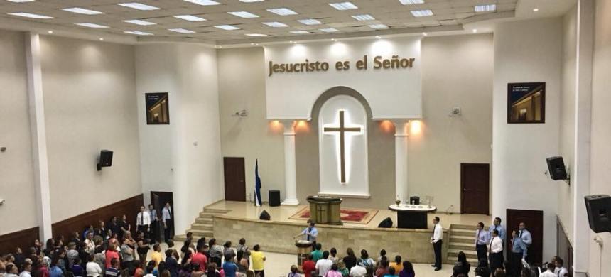 Concentración de fe en Honduras