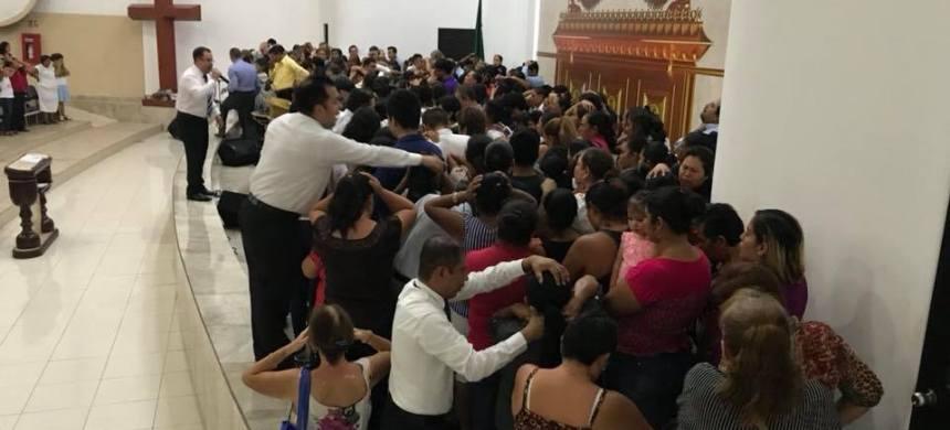 Concentración de fe en Chiapas