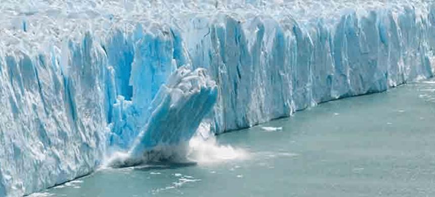 Calentamiento global: el derretimiento de hielo en la Antártida se ha acelerado 280 %