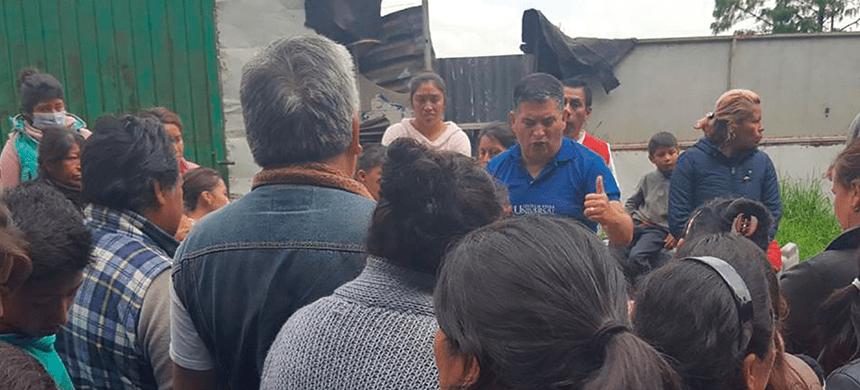 Una tonelada de alimento donada en la colonia Santa Rosa