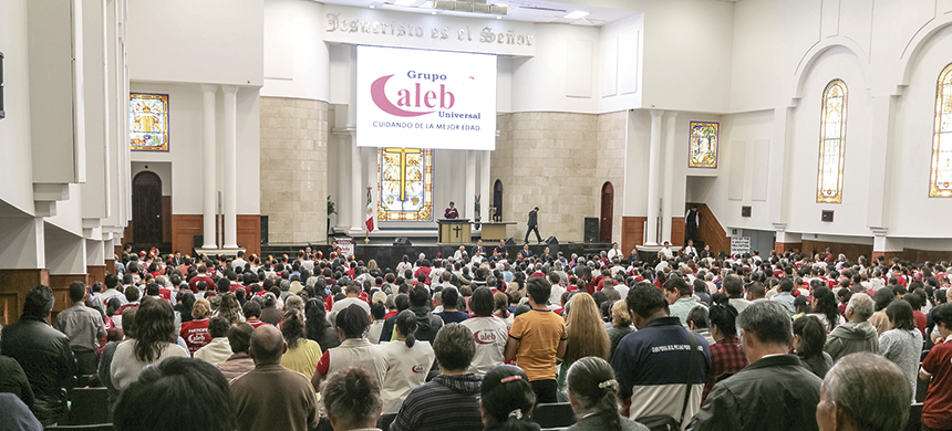 Grupo Caleb Universal: primer encuentro del año