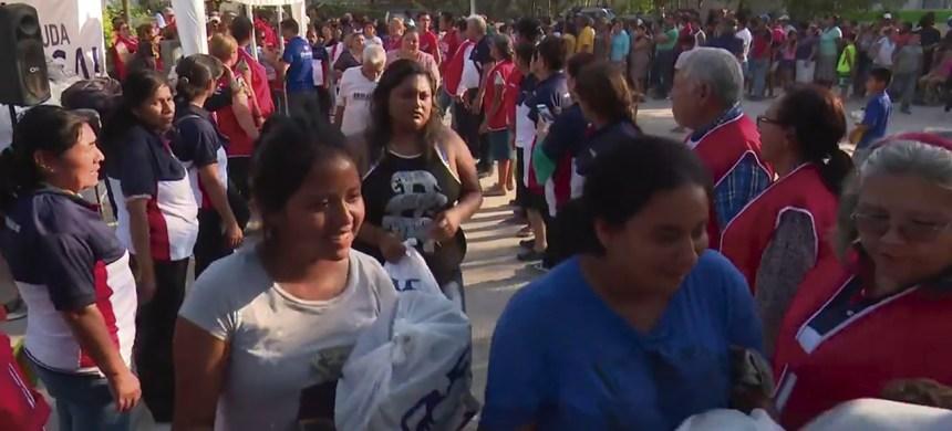 12 toneladas de alimento fueron repartidas por los voluntarios de T-Ayudo en febrero