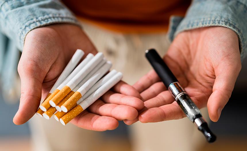 Cigarros electrónicos y vapeadores incrementan el vicio