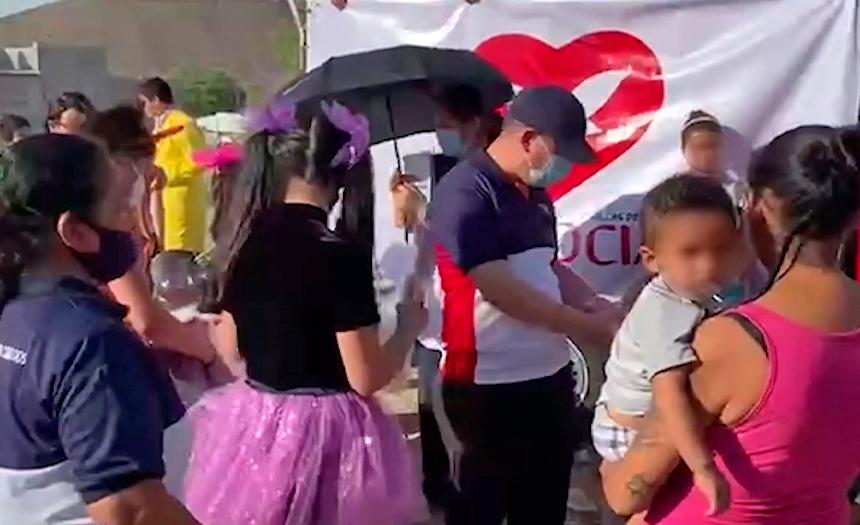 Desigualdad, hambre y lodo: una realidad en Saltillo