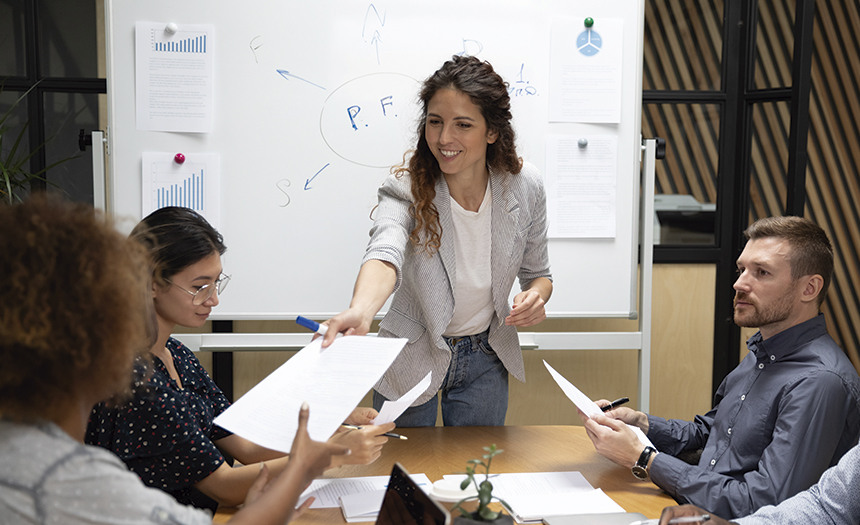 ¿Eres jefe? Aprende a delegar tareas sin sentirte incómodo