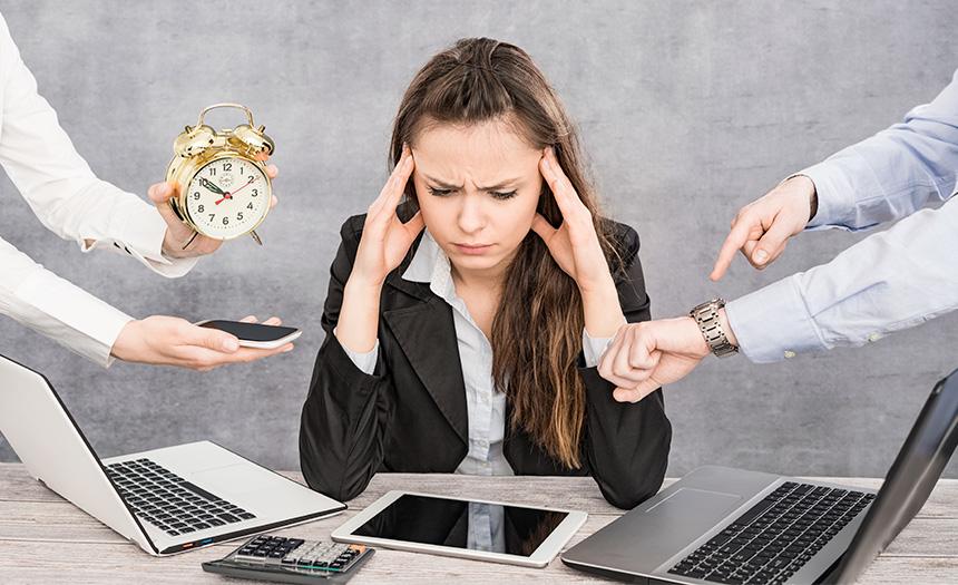 Tener un trabajo tóxico aumenta el riesgo de sufrir depresión