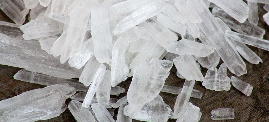 Aumenta uso de cristal en el país, reportaron autoridades