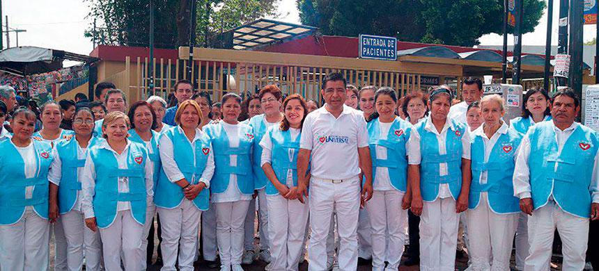 T-Ayudo visitó a los familiares de pacientes hospitalizados