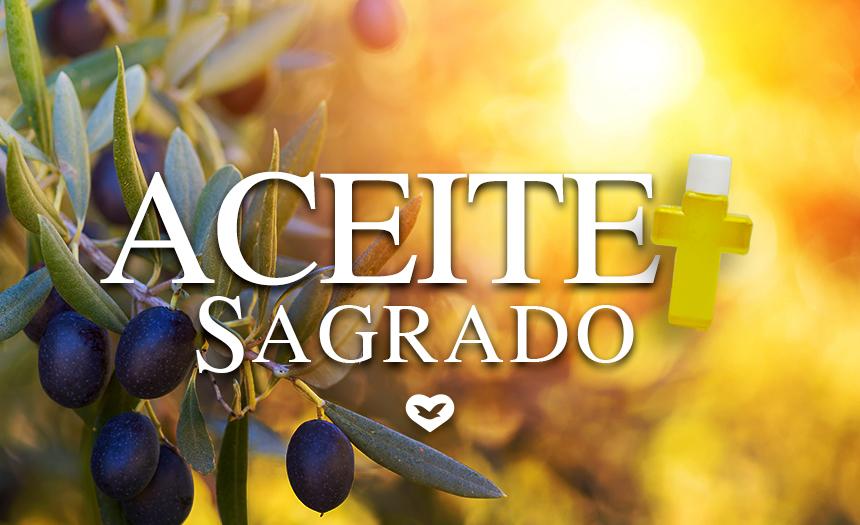 Evento único: recibe gratuitamente el Aceite Sagrado el próximo 2 de mayo