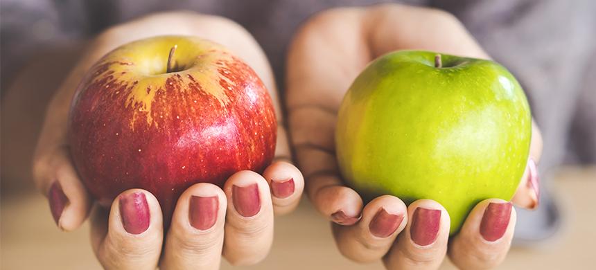 Necesitas aprender a evaluar los frutos