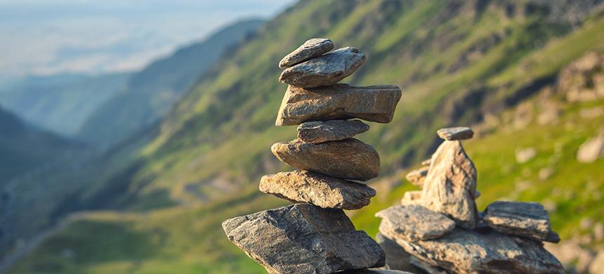 ¿Qué has hecho con las piedras que encuentras en el camino?