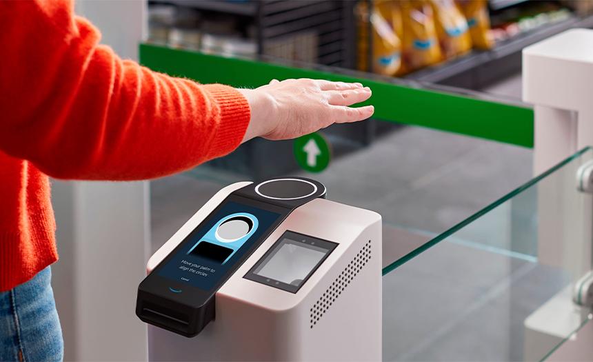 Empresa divulga sistema de pagos con la palma de la mano