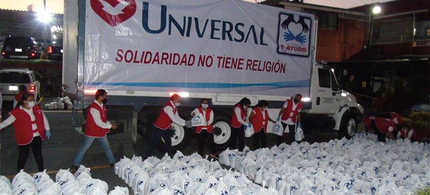 T-Ayudo llevó más de 10 toneladas de alimento a familias afectadas en Tabasco