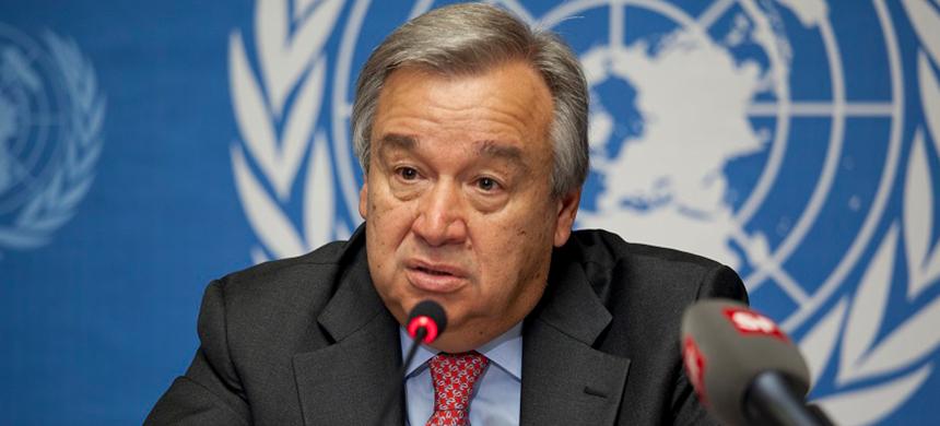 Secretario general de la ONU señala la necesidad de un «gobierno global»