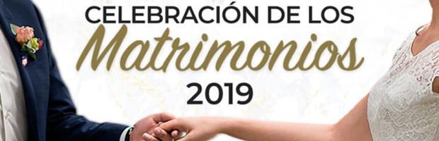 Celebración de los matrimonios 2019