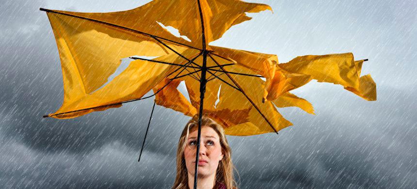 ¿Cómo reacciona ante las tempestades económicas?