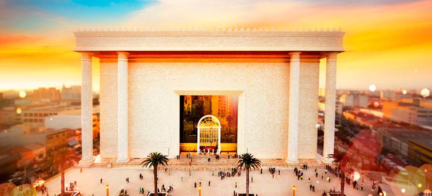 5.° aniversario del Templo de Salomón, un lugar de santidad al Señor