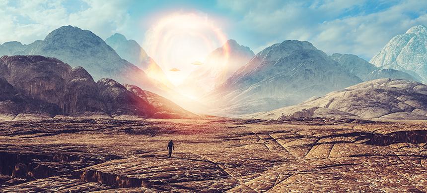 Andar en el desierto