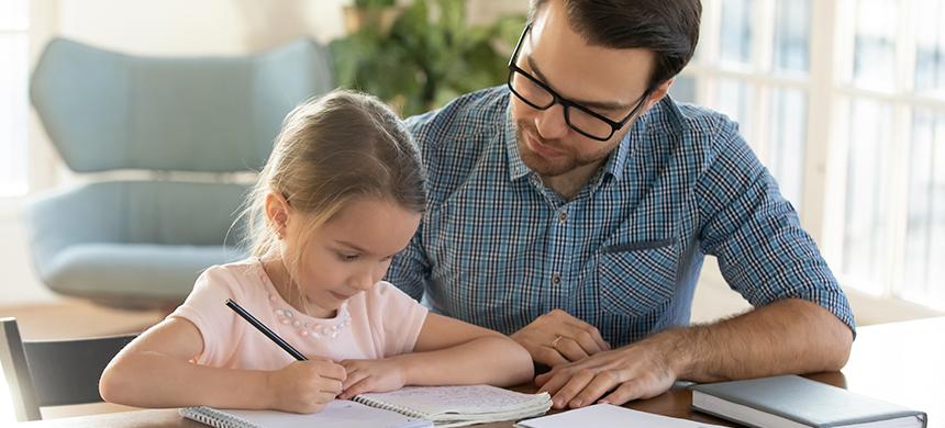 Ser amable con tus hijos hace que tengan buenas calificaciones escolares
