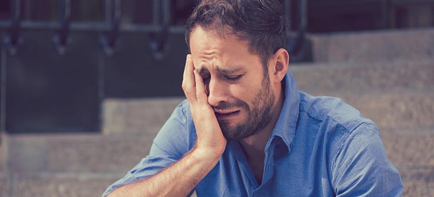 ¿Los hombres no lloran?