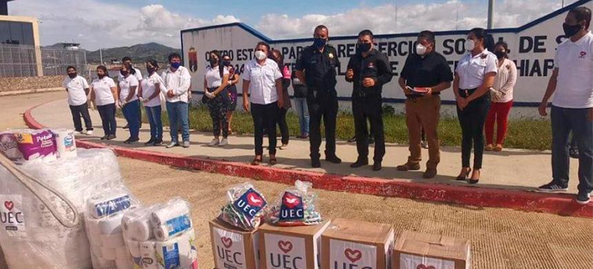 Reclusos de 19 de los 32 estados de México reciben ayuda para recomenzar su vida
