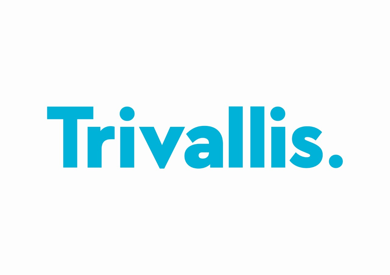 Trivallis logo on white