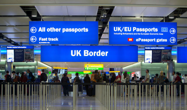 UK Border Heathrow