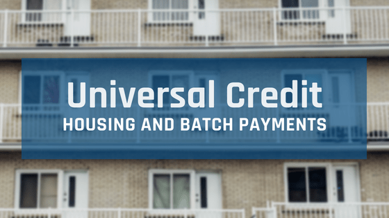 Universal Credit – Housing Payments Risk Claimants being Evicted