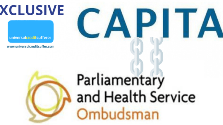 Ombudsman that investigate DWP pay CAPITA £100k a month for IT support despite huge conflict of interest