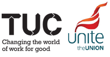 TUC Unite the Union Logos