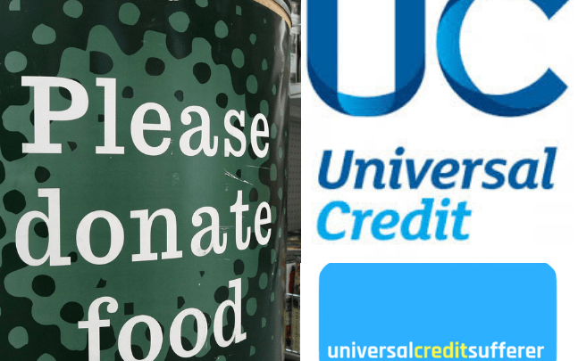 DWP BAN staff referring claimants to foodbanks