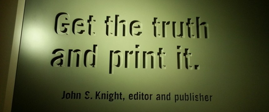 Get the truth and Print it