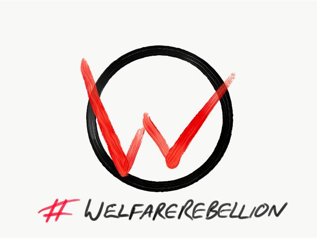 Welfare rebellion logo