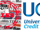 MSM Lie about Universal Credit