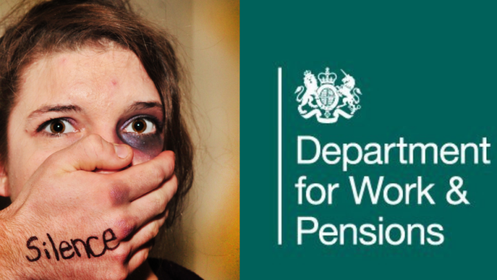 """""""Prove you're a victim of domestic abuse"""" say DWP"""