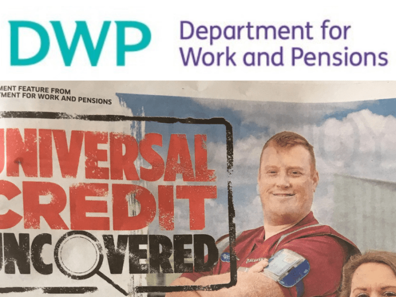 DWP Blows £225k on Universal Credit Propaganda