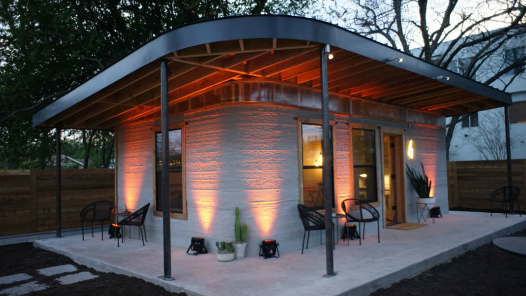 3D Printed Home by Icon and New Story