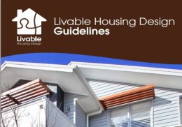Part of the front cover of the Livable Housing Design Guidelines