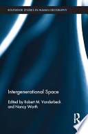 Front cover of the book Intergenerational Space.