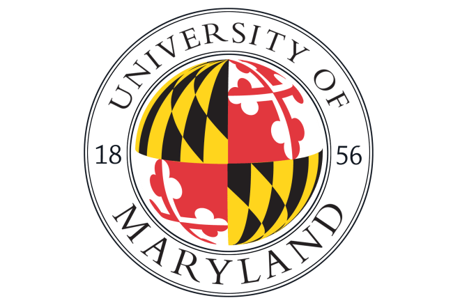 Circular logo of University of Maryland