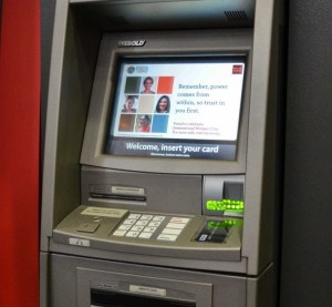 Picture of an ATM